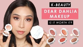 "New Korean Makeup ""Dear Dahlia"" - Is it worth it? 