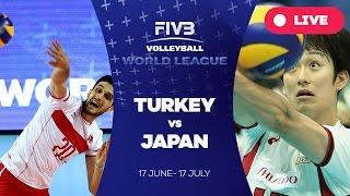 Turkey v Japan - Group 2: 2016 FIVB Volleyball World League
