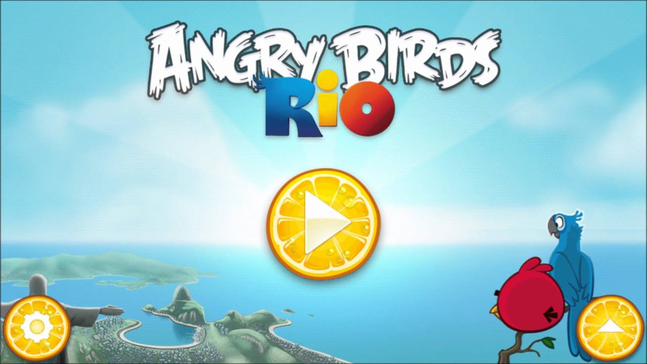angry birds rio angry birds music youtube. Black Bedroom Furniture Sets. Home Design Ideas