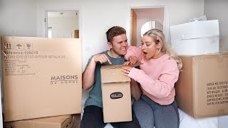 BEDROOM DELIVERIES | TRANSFORMING OUR BEDROOM | James and Carys