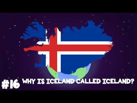 Where did Iceland get its name?