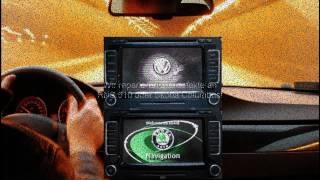 VW RNS 510 Skoda Columbus Bildschirm reagiert nicht Cardreader SD Kartenleser defekt