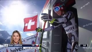 ESTER LEDECKÁ - SUPER-G  St. Moritz
