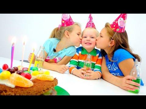 Торт с днём рождения