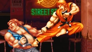 Art of Fighting (Neo Geo AES) Playthrough - NintendoComplete