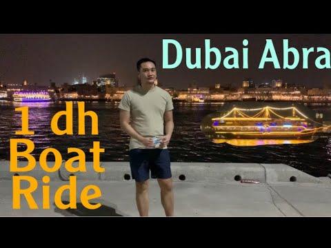 Dubai Creek: abra ride | dhow cruise across dubai creek