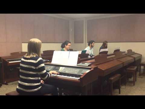 Sakura - Japanese Folk Music by ASU Keyboard Lab, 2014