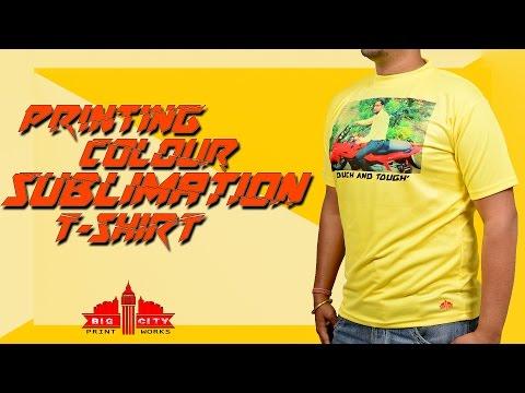 sublimation colour t shirt Printing heat press machine epson l800