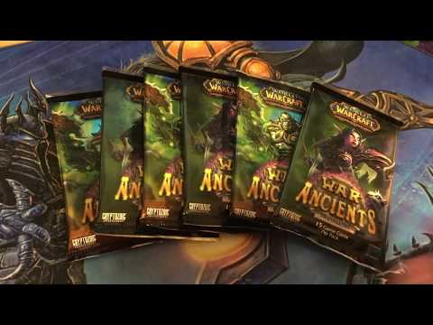 Unboxing War Of The Ancients TCG - RARE MOUNT DROP - FELDRAKE!! | World Of Warcraft