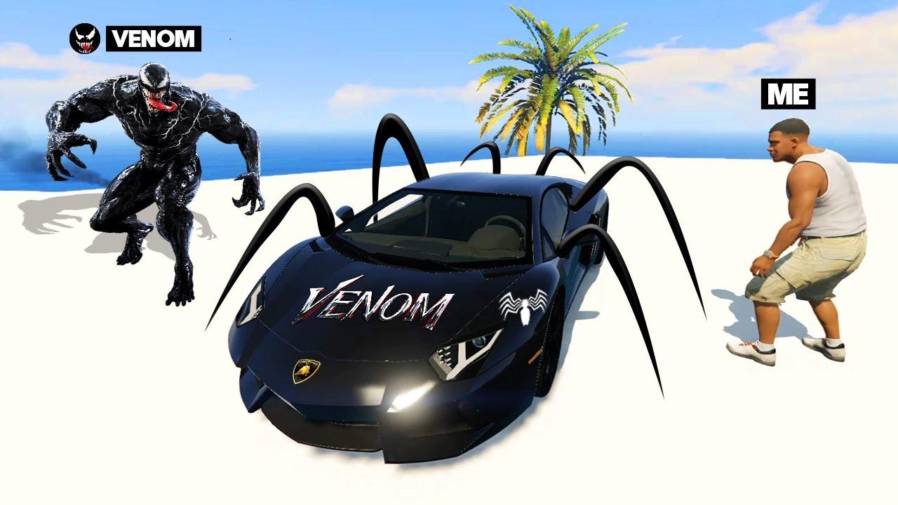 I Stole VENOM'S Supercars From VENOM in GTA 5!