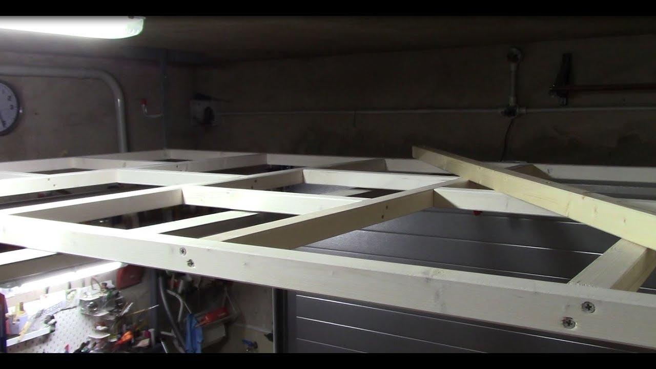 Idee Per Soppalco In Legno 🛠fai da te🛠 - come realizzare un soppalco per il proprio garage