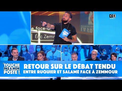 Retour sur le débat tendu entre Laurent Ruquier et Léa Salamé face à Eric Zemmour
