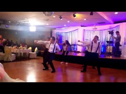 Epic Sibling Dance for Brother's Wedding!