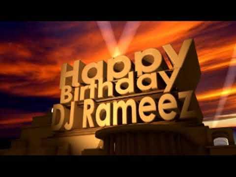 Happy Birthday DJ Rameez