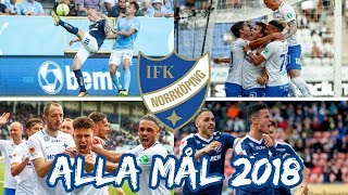 IFK Norrköping alla mål 2018 | Allsvenskan