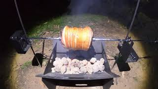 Kings Steel Fire Pİt and Camping Rotisserie Review! Are they actually any good?