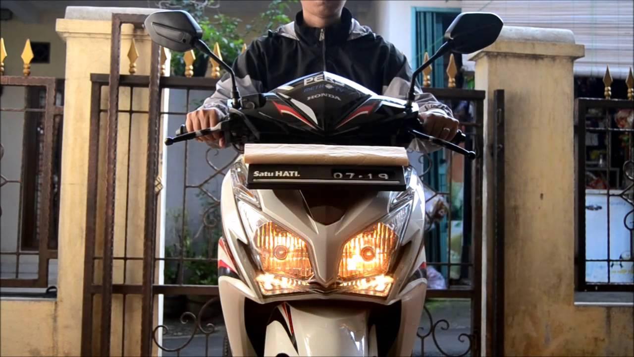 Modifikasi Saklar / Switch Pass Beam Di Honda Vario Techno
