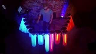 Daft Punk Remix on Homemade Midi Controller (AFISHAL DJ Drums)