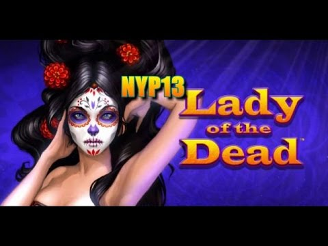 Incredible Technologies - Lady of the Dead Slot Bonus MAX BET