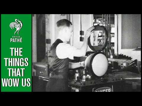 6 Inventions That Changed The World | British Pathé