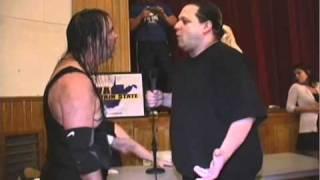 Buddy Landel attacked by Johnny Blast