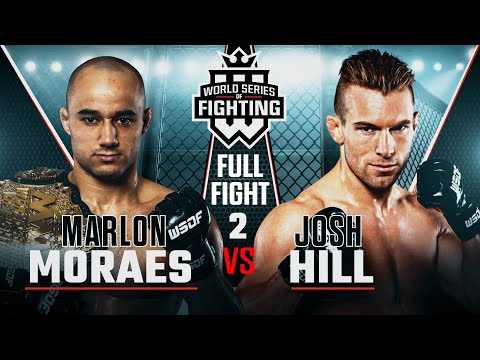 #WSOF32: Marlon Moraes vs. Josh Hill 2 Full Fight