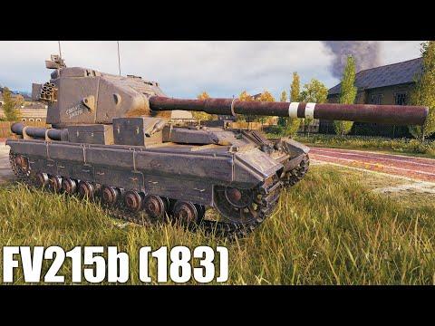 FV215b 183, ВАНШОТЫ ЗАРЕШАЛИ В СЛИВНОМ БОЮ, world of tanks