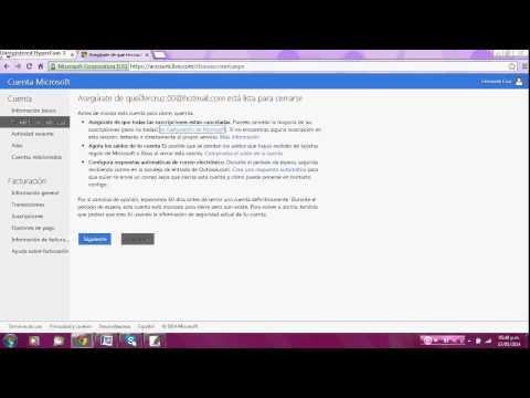 Cómo eliminar cuenta de correo hotmail