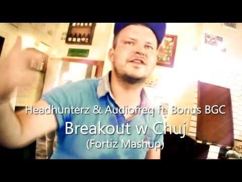 [Music] Headhunterz & Audiofreq ft. Bonus BGC - Breakout w Chuj (Fortiz Mashup)