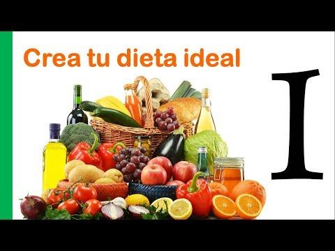 Como hacer tu dieta ideal