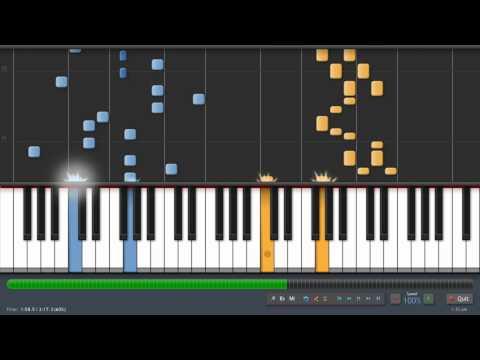 Megurine Luka - Double Lariat - Hayato Version (piano tutorial)