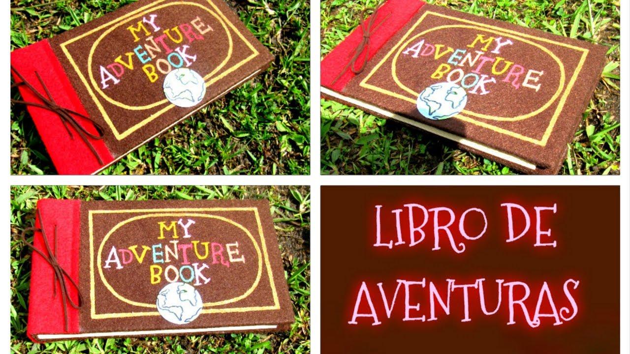 Haz tu propio libro de aventuras para poner tus metas de