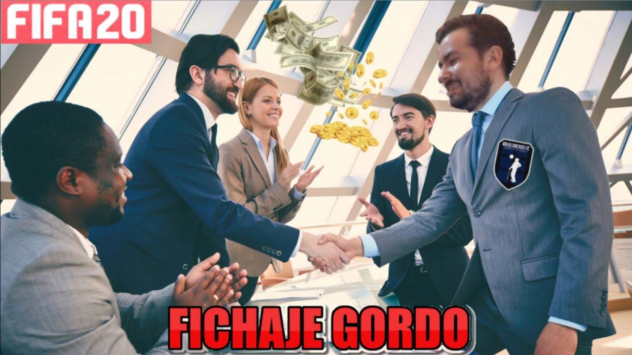 EL DÍA DEL FICHAJE GORDO - FIFA 20