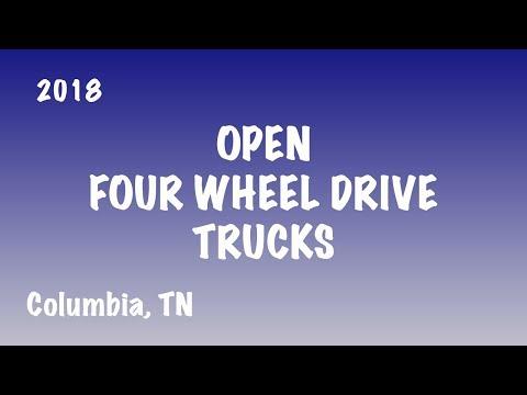 Super Modified Four Wheel Drive / 3.6 Diesel Trucks at Columbia, TN (8/31/18)