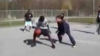 vuclip Amazing basketball skill and1 streetball