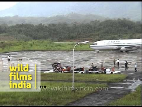 Lengpui airport in Mizoram: one of India