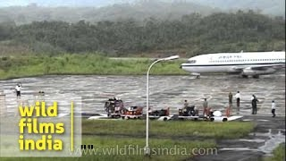 Lengpui airport in Mizoram: one of India's tricky landings