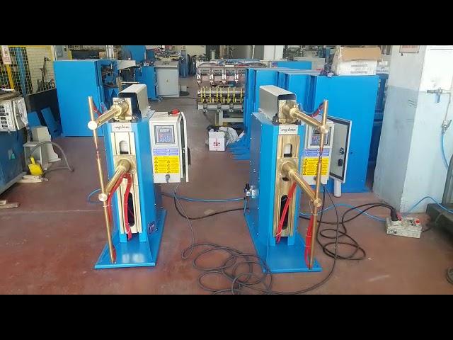 Sağlam Makina - Dolap Punta Kaynak Makinesi Eş Zamanlı Çalışma