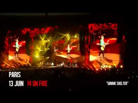 """Gimme Shelter"" The Rolling Stones - Paris - Stade de France - 14 On Fire Tour - 13 juin 2014"