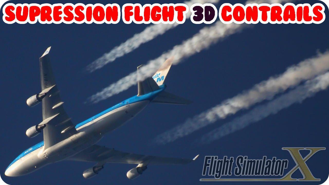 Supression Flight 3D Contrails FSX