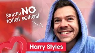 Harry Styles talks Meeting Fans in Saunas, 2020 Tour and Saturday Night Live | Interview | Heart