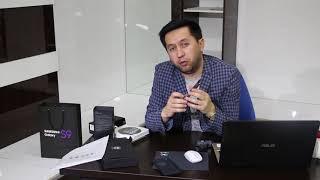 Asaxiy.uz лабораторияси Samsung Galaxy S9 учун Ҳамза Жумаев рақсга тушди.
