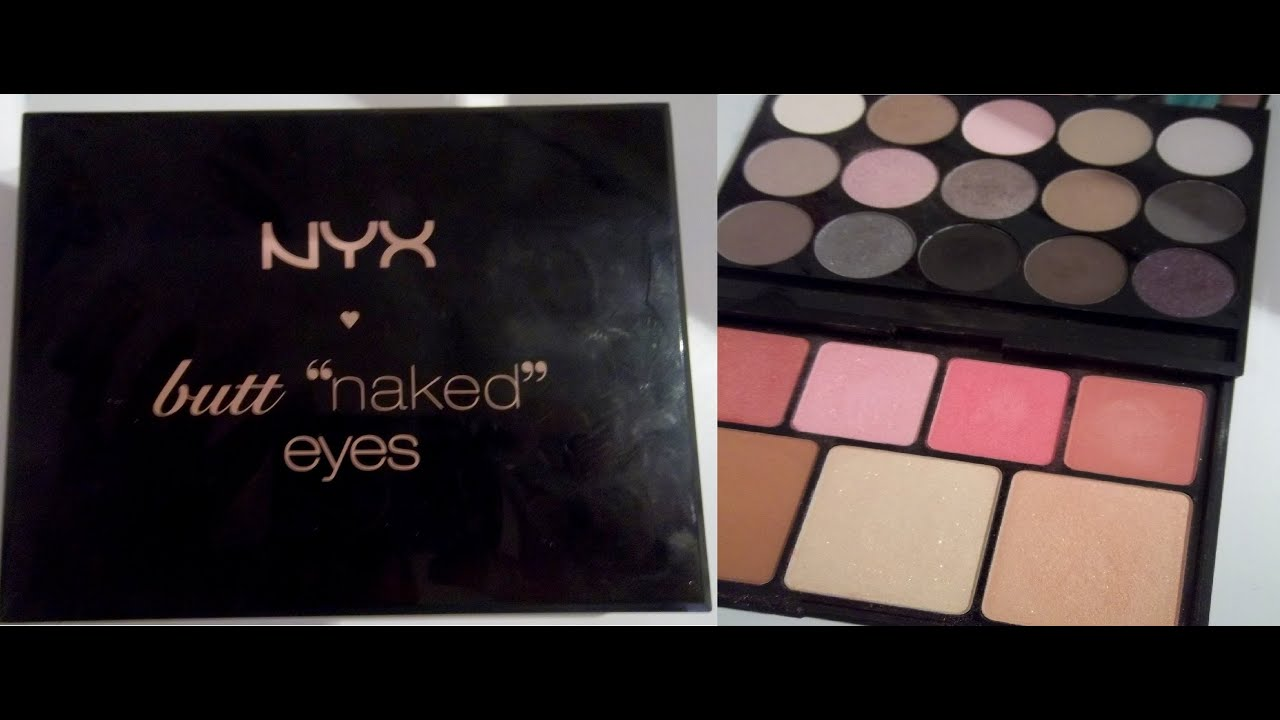 Review Nyx Butt Naked Eyes Palette - Youtube-1160
