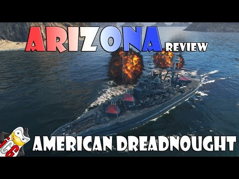 World of Warships - Arizona Review - American Dreadnought