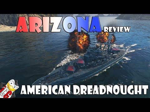 World Of Warships - Arizona Review - American Dreadnought