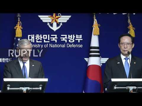 South Korea: US General Mattis delivers full-backing of Seoul ahead of joint security meeting