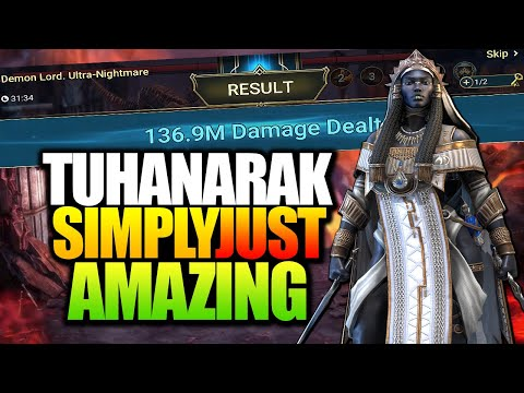 TUHANARAK SHE'S A GAME CHANGER | INSANE SUPPORT & CB SLAYER | CHAMPION SPOTLIGHT RAID SHADOW LEGENDS