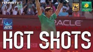 Hot Shot: Del Potro Lands Tweener In Indian Wells 2017