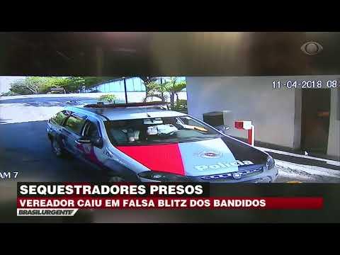 SP: Bandidos prendem sequestradores de vereador