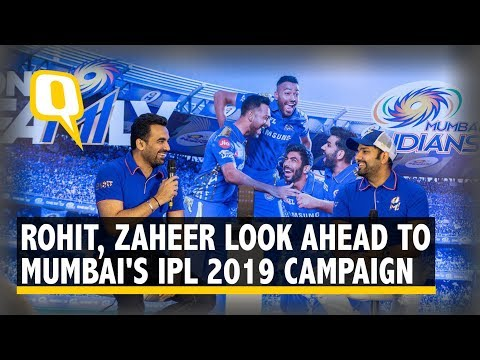 Rohit Sharma, Zaheer Khan on Mumbai Indians' IPL 2019 Plans | The Quint